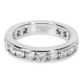 Tiffany & Co. Channel Diamond Eternity Band Size 6