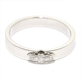 Chaumet Platinum Diamond Liens Evidence Ring Size 4