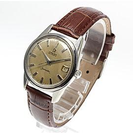 Omega Seamaster Date Vintage 33.5mm Mens Watch
