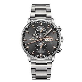 Mido Commander M0164141104100 40mm Mens Watch