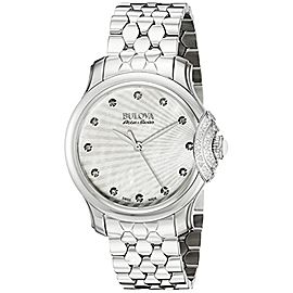 Bulova STAINLESS 30mm Womens Watch