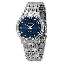 Omega DeVille Prestige 4241027605 27mm Womens Watch
