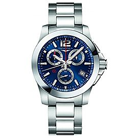 Longines Conquest L37004966 41mm Mens Watch