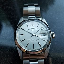 Rolex Oyster Perpetual Date 1500 35mm Mens Watch