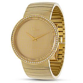 Dior Le D De Dior CD043151 Diamond Unisex Watch in 18K Yellow Gold
