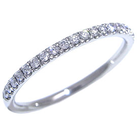 Harry Winston Platinum Diamond Ring Size 4