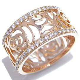 Chanel RG Diamond Ring Size 4