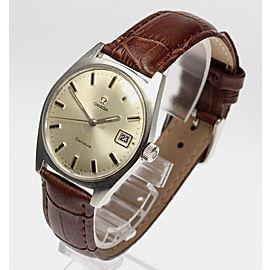 Omega Geneve Date Vintage 34.5mm Mens Watch