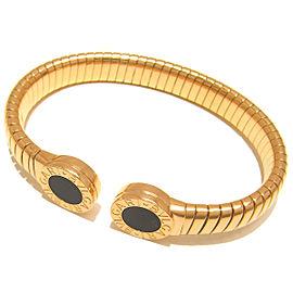 Bulgari YG Onyx Tubogas Bracelet