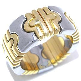 Bulgari YG, Stainless Steel Ring Size 4.5