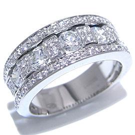 Damiani White Gold Diamond Ring