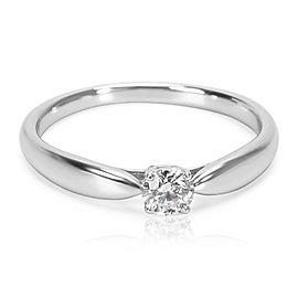 Tiffany & Co. Harmony Diamond Engagement Ring in Platinum E VS1 0.18 CTW