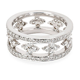 Kwiat Clover Diamond Eternity Band in 18KT White Gold 1.94 CTW