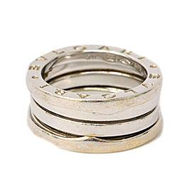 Bulgari 18K White Gold B Zero 1 Ring Size 5