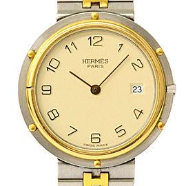 Hermes Clipper Vintage 32mm Mens Watch