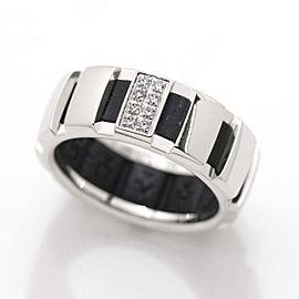 Chaumet 18K WG Class One Diamond Ring Size 5.25