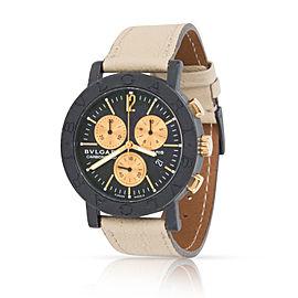 Bulgari Carbon BB 38 CL CH 38mm Mens Watch