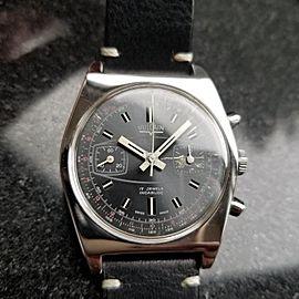 Vulcain Valjoux Vintage 36mm Mens Watch