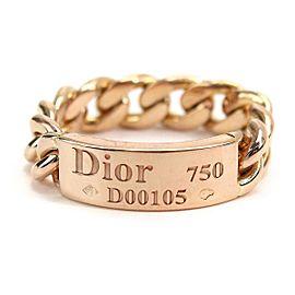 Christian Dior 18K RG Ring Size 6.25