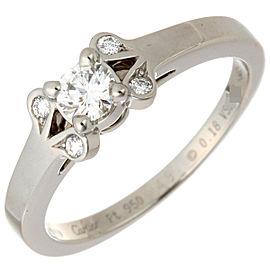 Cartier Platinum Diamond Ring Size 4.25
