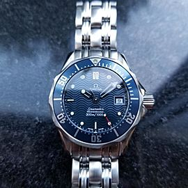 Omega Seamaster Professional 28mm Womens Watch