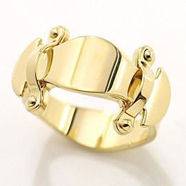 Louis Vuitton 18K YG STAND BY ME Ring Size 7