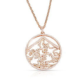 Repossi 18K Rose Gold Diamond Pendant