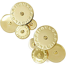 Bulgari 18K YG Earrings