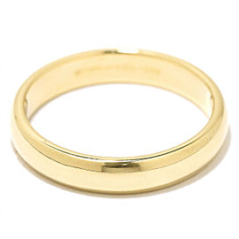 TIFFANY Co. 18YG Classic Band Ring Size 10.25
