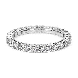 Tiffany & Co. Platinum Diamond Ring Size 5.25