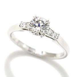 Harry Winston Platinum Diamond Ring Size 5.25