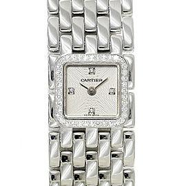 Cartier Ruban WG3012T8 21mm Womens Watch