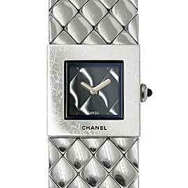 Chanel Matelasse H00009 19mm Womens Watch