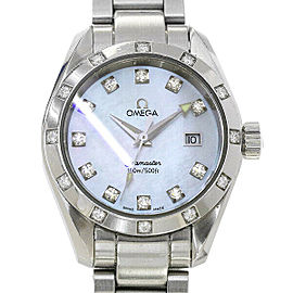 Omega Seamaster Aqua Terra 2575.75 36mm Womens Watch