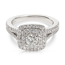 Marchesa Engagement Ring in 18K White Gold 1.25CTW