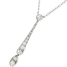 TIFFANY Co. Platinum Diamond Necklace