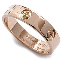 Cartier 18K RG Love Ring Size 11.75
