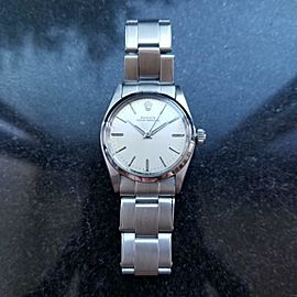 ROLEX Midsize Oyster Perpetual 6548 Automatic, c.1958, Swiss, All Original LV745
