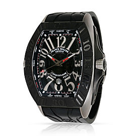 Franck Muller Conquistador 9900 SC DT GPG Men's Watch in Titanium & PVD Stainle