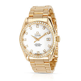 Omega Aqua Terra Aqua Terra Women's Watch in 18kt Yellow Gold