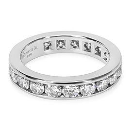 Tiffany & Co. Channel Diamond Eternity Band in Platinum 1.8 CTW