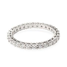 Tiffany & Co. Diamond Eternity Band in Platinum 0.86 CTW