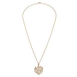 Tiffany & Co. Olive Leaf Pendant in 18K Rose Gold