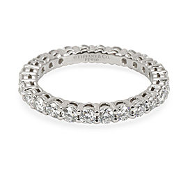 Tiffany & Co. Embrace Diamond Eternity Band in Platinum 0.78 CTW