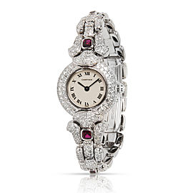 Cartier Colisse 0030 Women's Watch in 18kt White Gold
