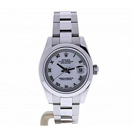 2006 Rolex Datejust 179160-WRO 26 millimeters white Dial