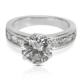 Tiffany & Co. Diamond Engagement Ring in Platinum (2.86 CTW)