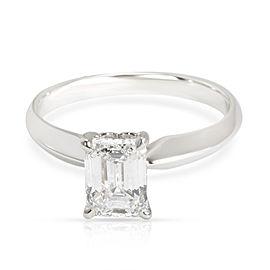 Ritani Solitaire Diamond Engagement Ring in Platinum D IF 1.11 CTW