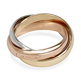 Cartier Trinity Ring in 18K Tri Tone Gold