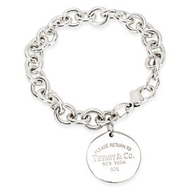 Tiffany & Co. Round Return to Tiffany Tag Bracelet in Sterling Silver